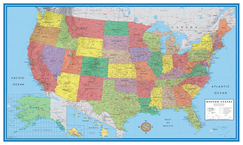 Plakat Ptna Karta Sash Sash Plakat Ptna Karta Severna Amerika